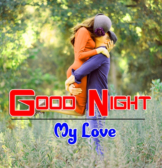 Sweet Love Couple k Romantic Good Night Images Pics Download