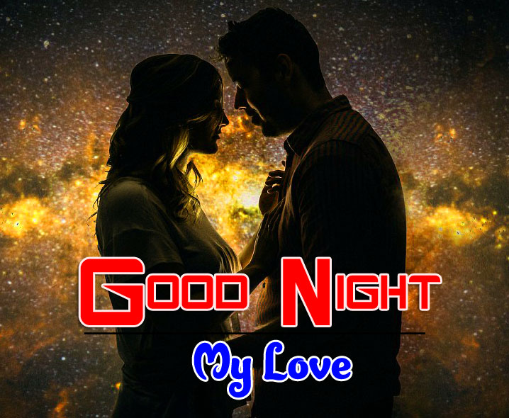 Sweet Love Couple Free Girlfriend Good Night Wishes Wallpaper Download