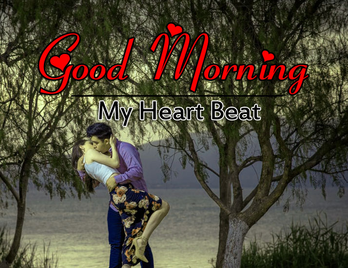 Couple Romantic Good Morning Images