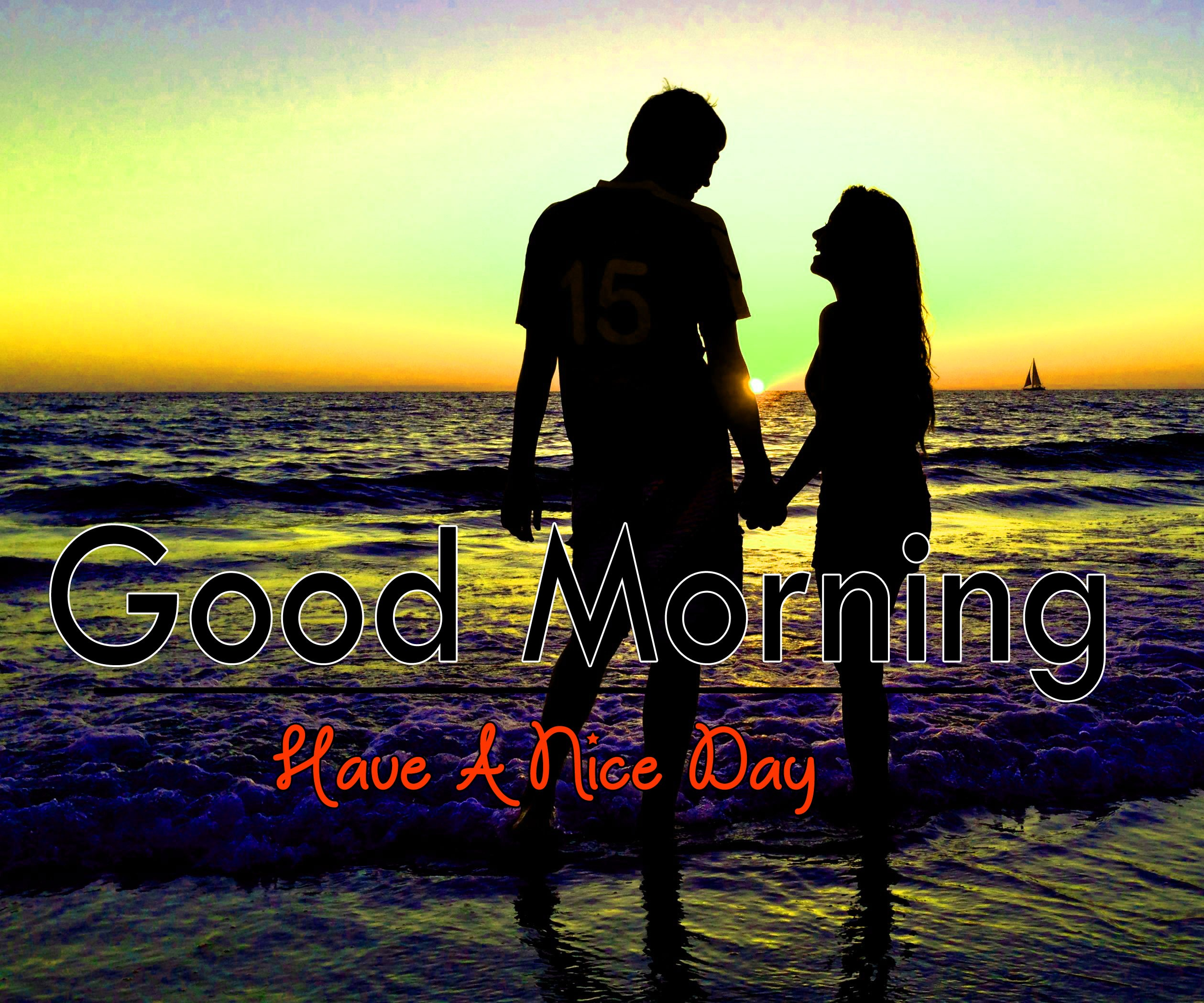 Couple Romantic Good Morning Images Download