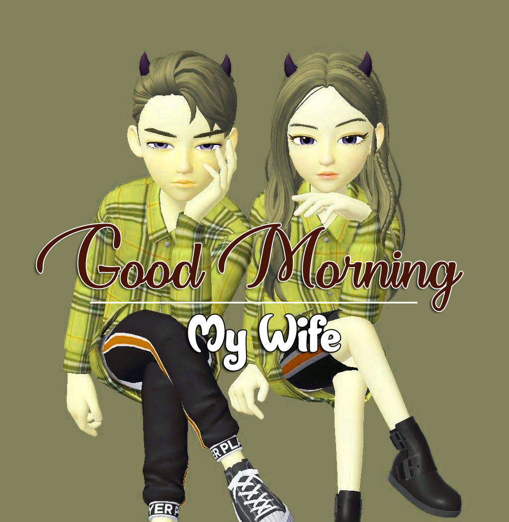Couple Romantic Good Morning Images Wallpaper