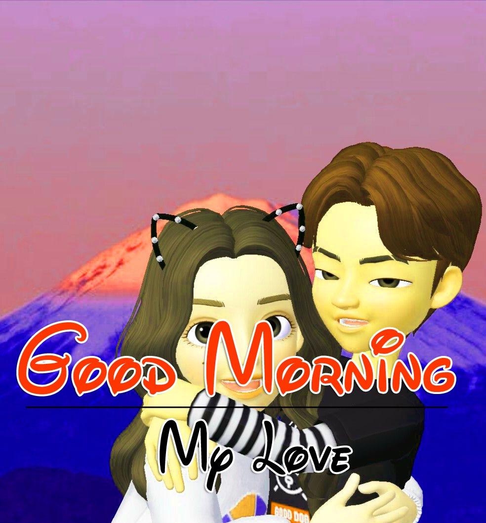 Couple Romantic Good Morning PIcs Images