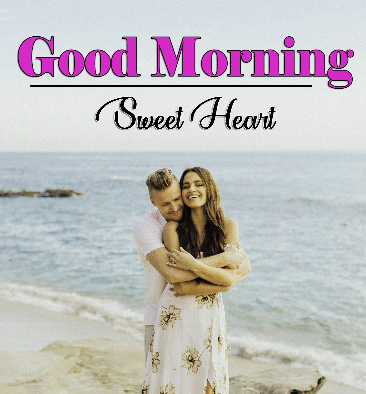 Couple Romantic Good Morning Photo Images
