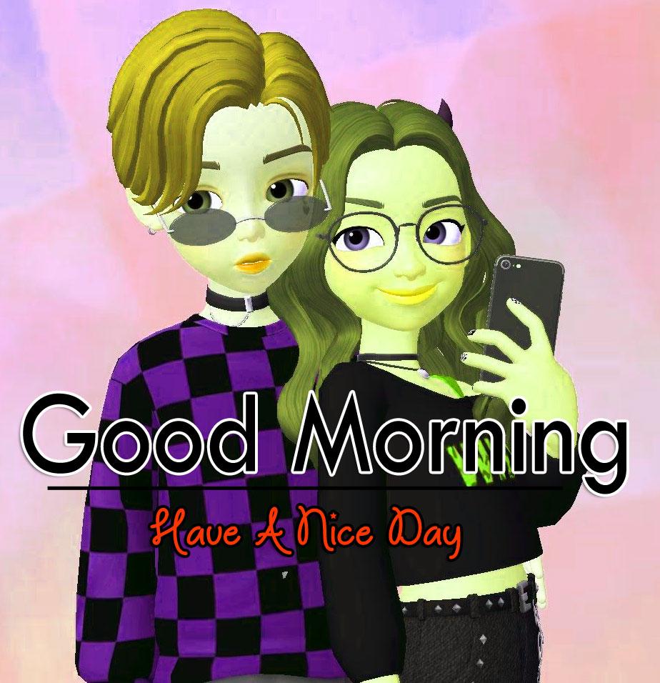 Couple Romantic Good Morning Pics Download