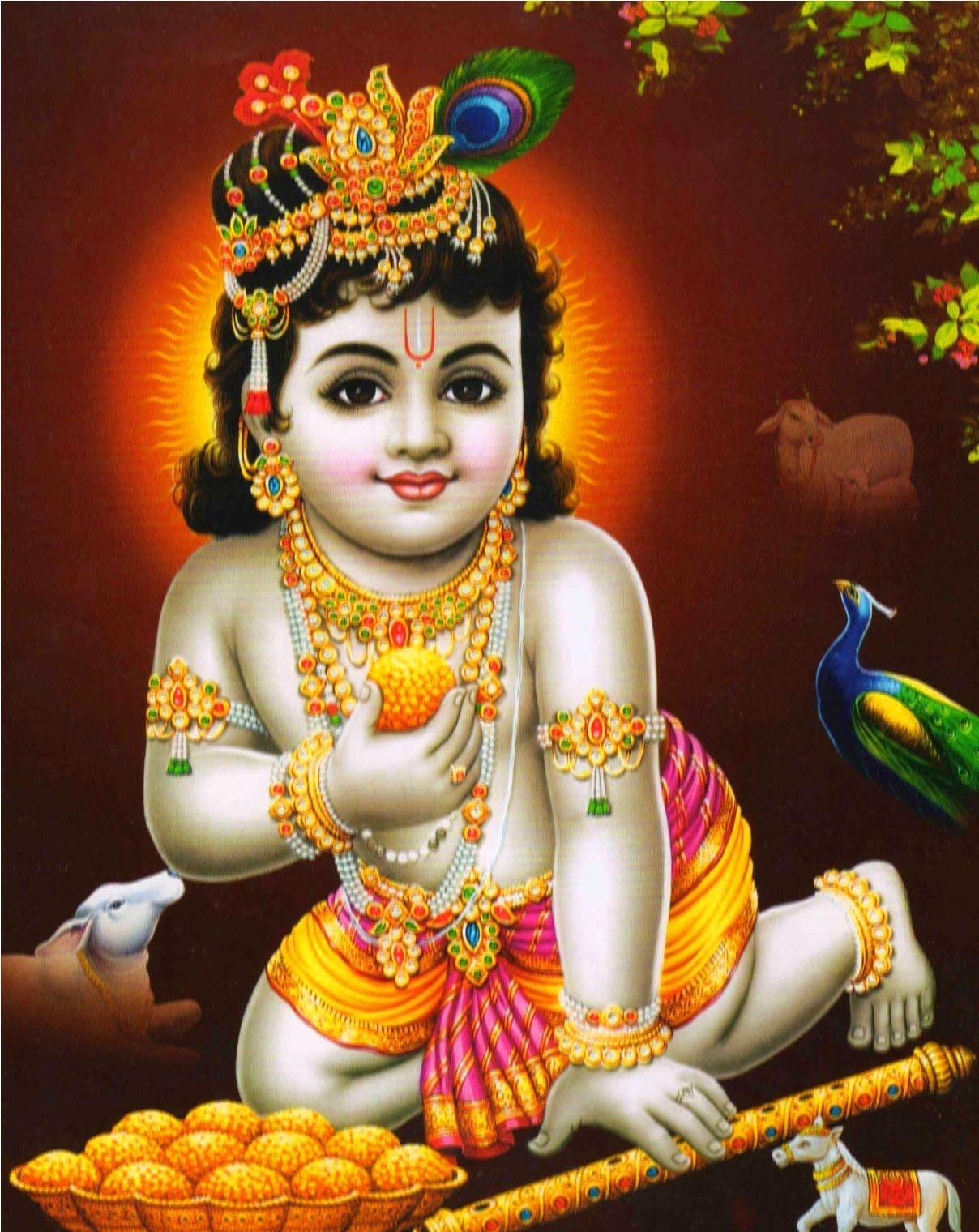 Free God Images Pics With Krishna