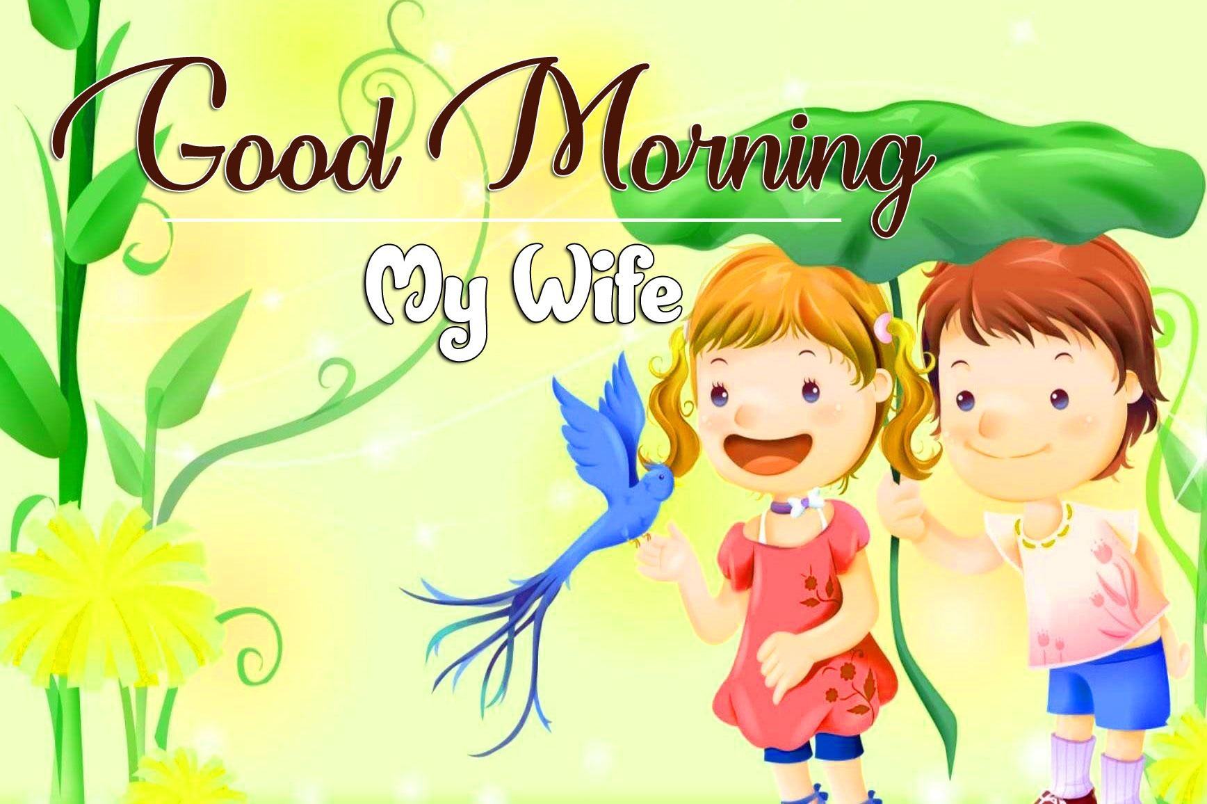 HD Romantic Good Morning Wallpaper Pics