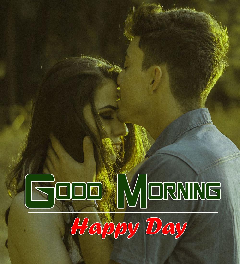 Latest Romantic Good Morning Photo Wallpaper