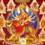 Latest whatsapp dp Wallpaper With Maa Durga