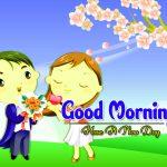 Romantic Good Morning Photo Wallapper