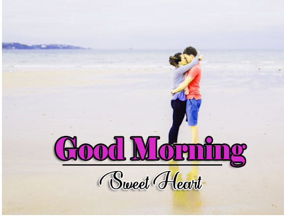 Romantic Good Morning Photo Wallpaper