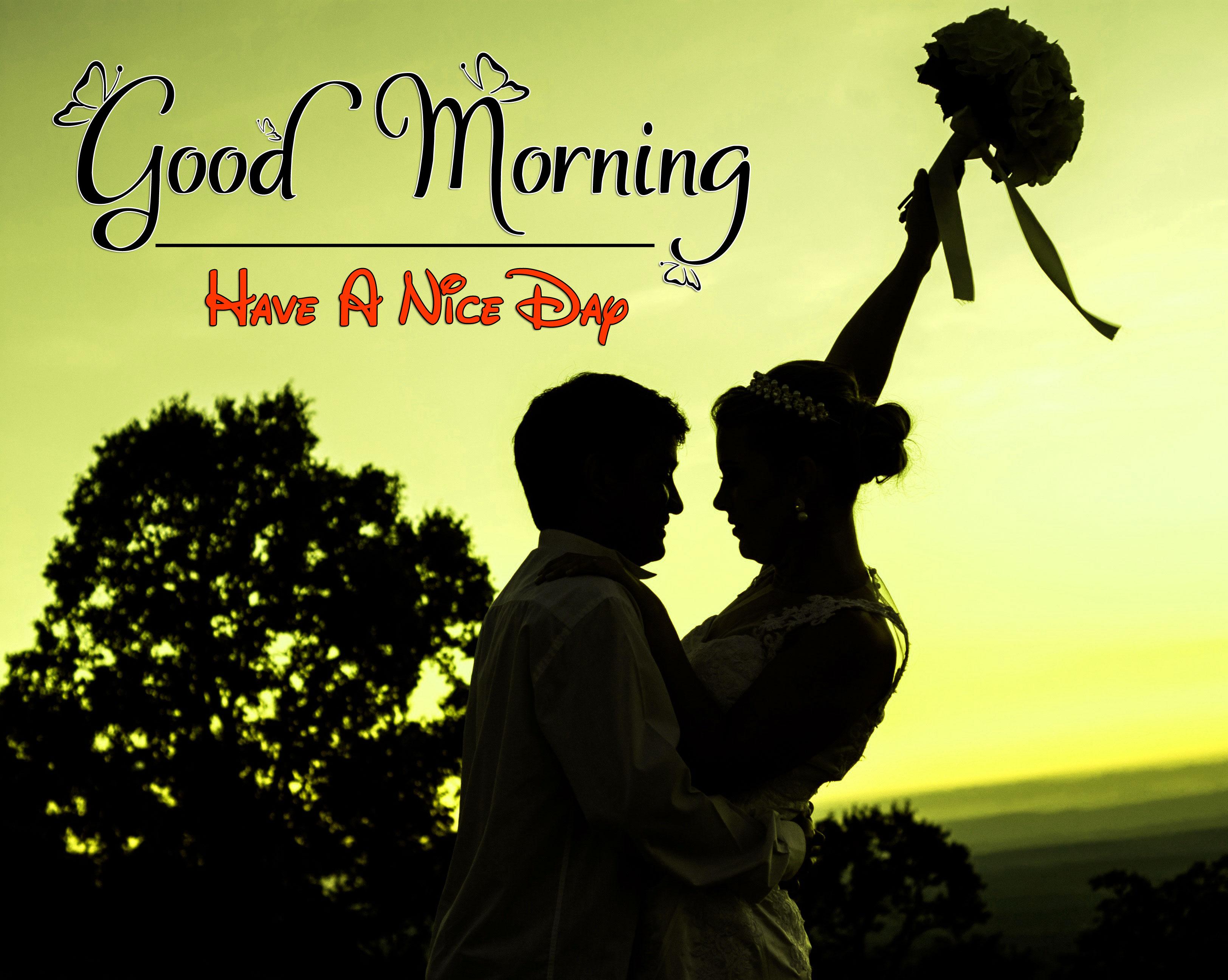 Romantic Good Morning Wallpaper For Whatsapp