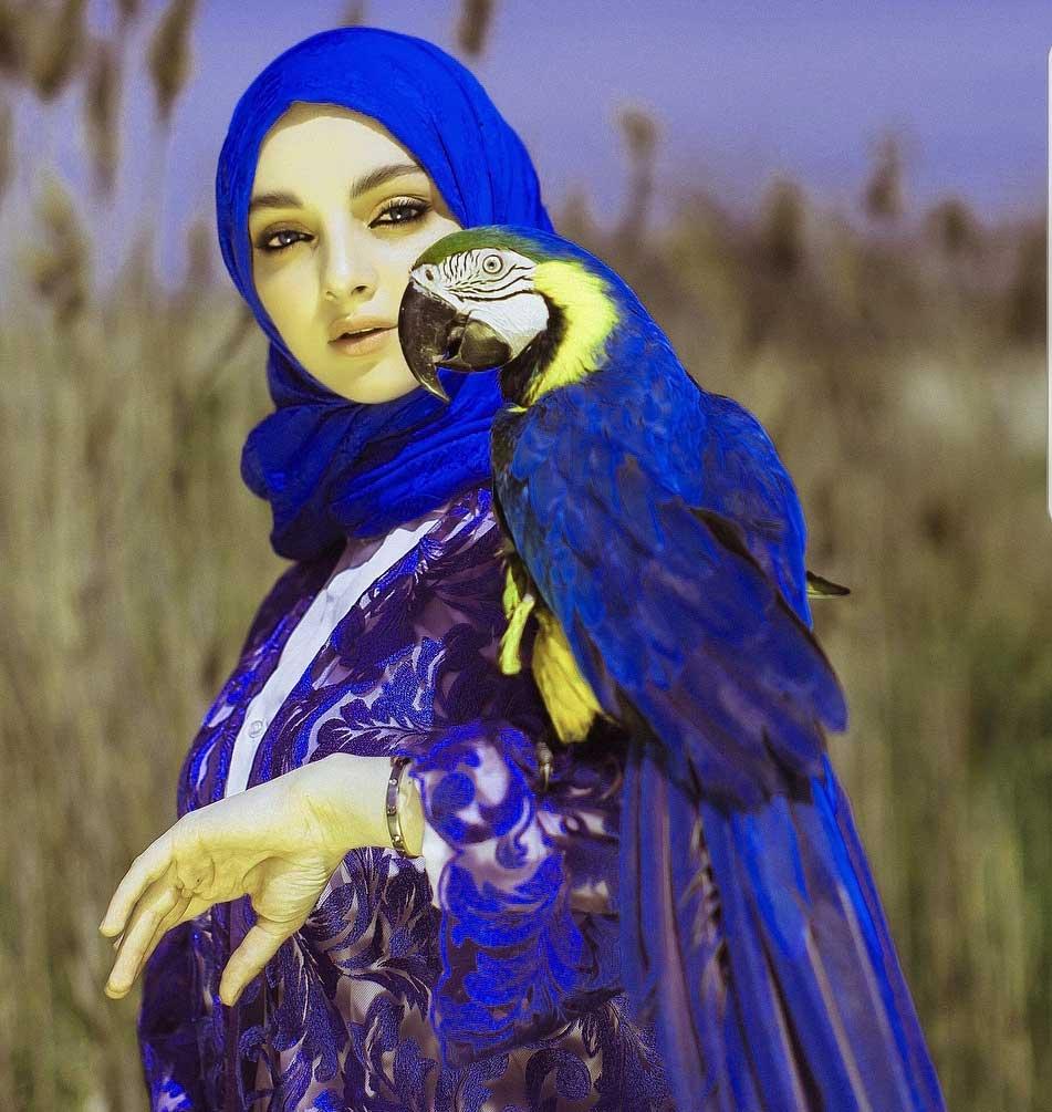 chechenka beauty hijab Favi