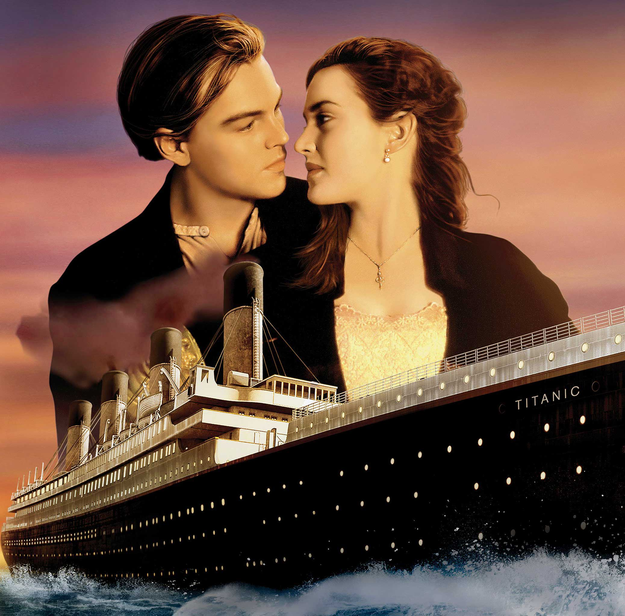 titanic hollywood love movi