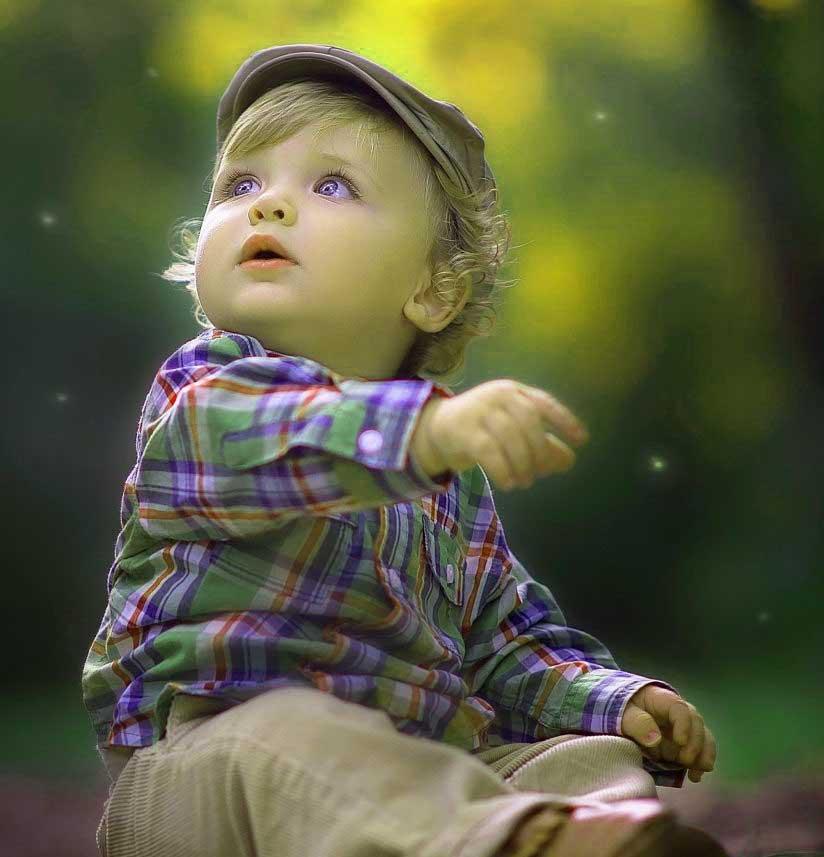 Cute Baby Boy Whatsapp Imag