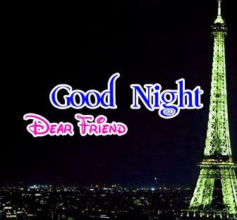 Free Friend Good Night Wishes Wallpaper