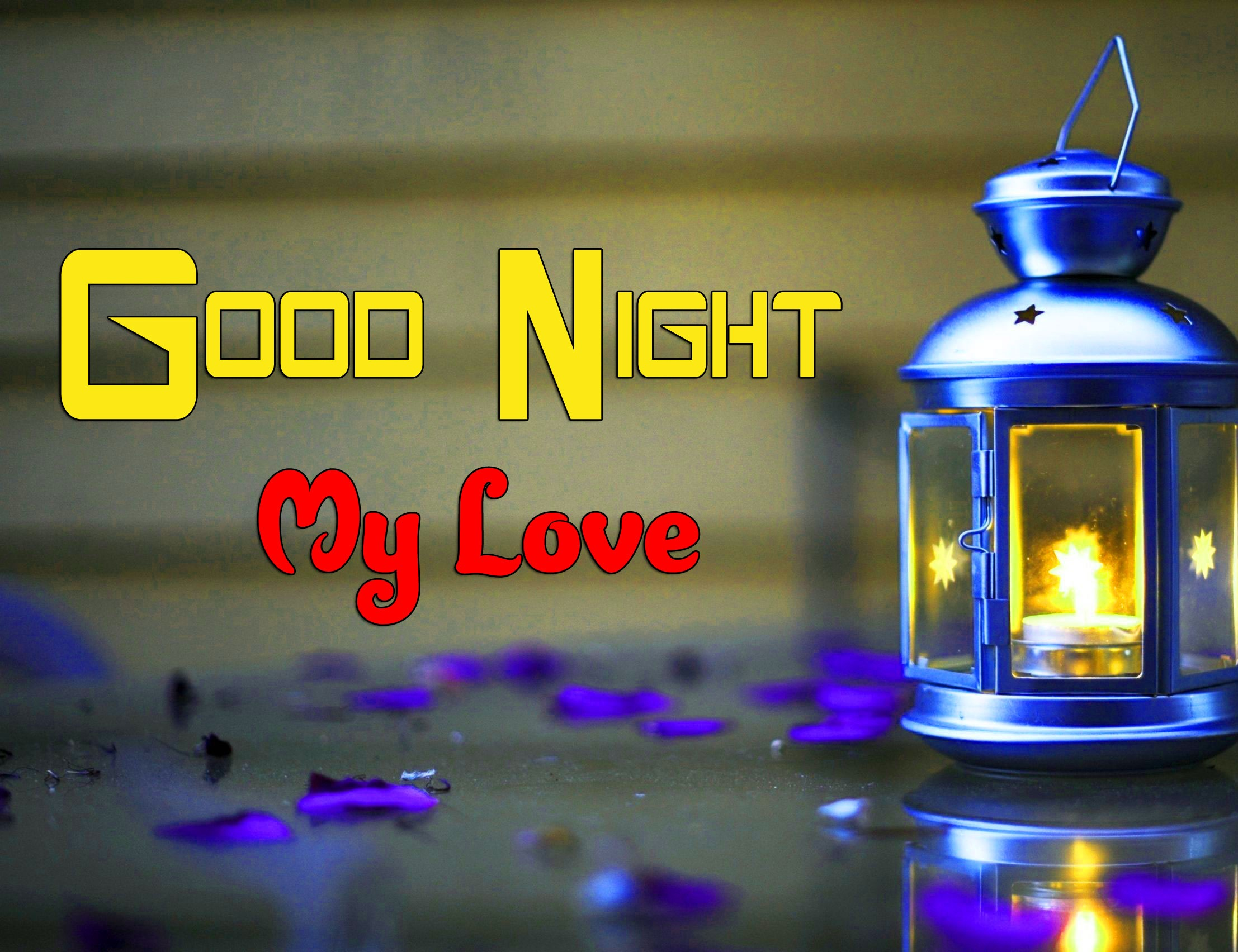 Latest Good Night Wishes Wallpaper Download