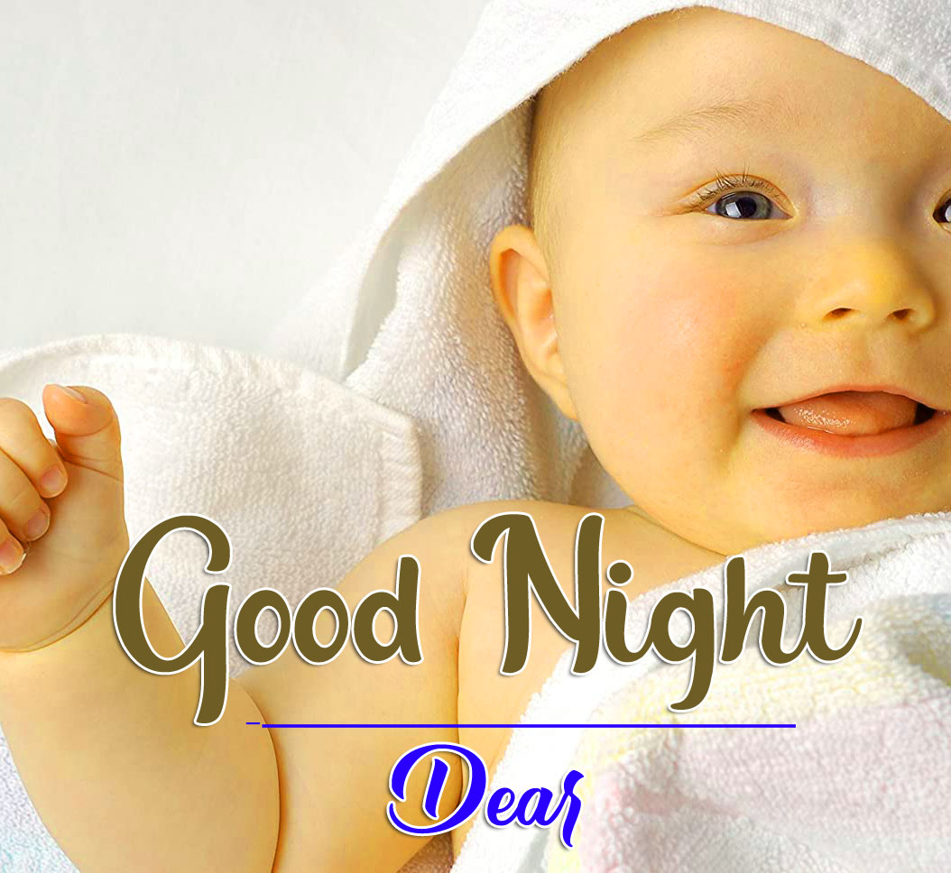 Cute Baby HD Good Night Images