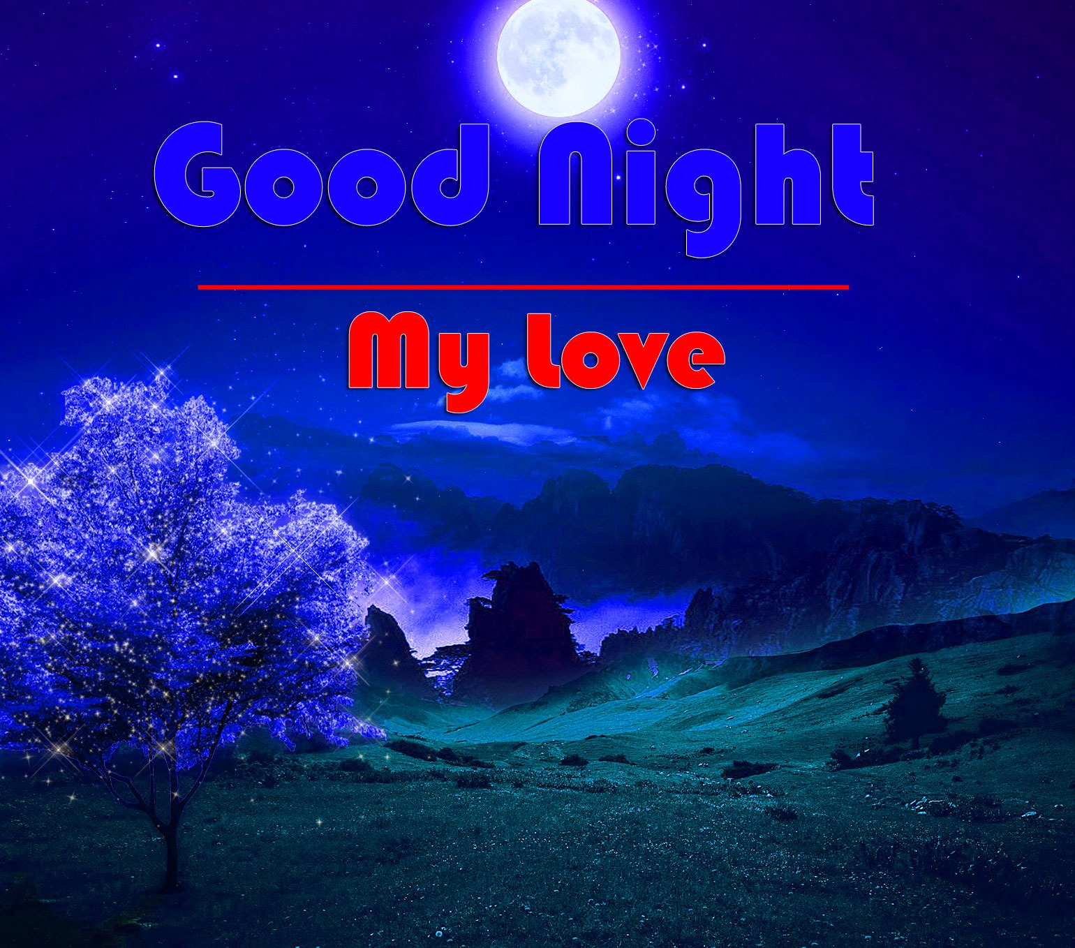 HD Good Night Images Pictures for Love Couple