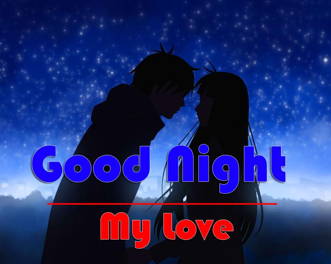 HD Good Night Photo With Love Couple