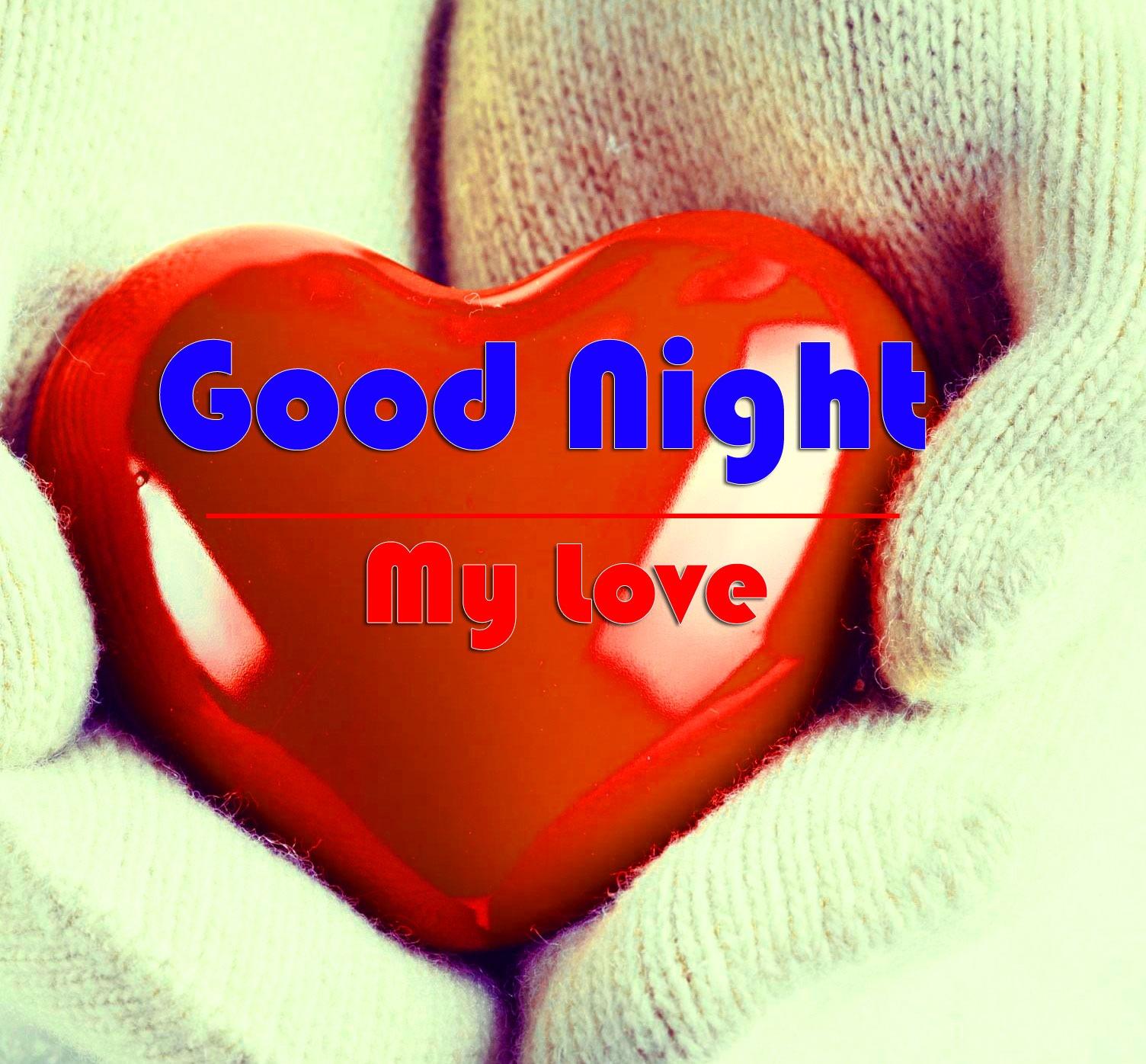 HD Good Night Pics With Love Couple