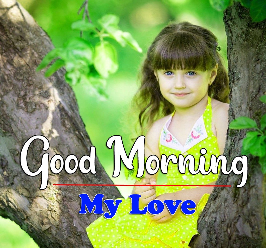 HD Latest Good Morning Pics Pictures With Cute Baby