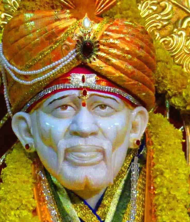 best lord Sai Baba whatsapp dp photo