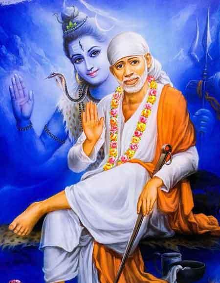 hindu god Sai Baba whatsapp photo