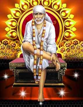 latest Sai Baba whatsapp dp photo free download