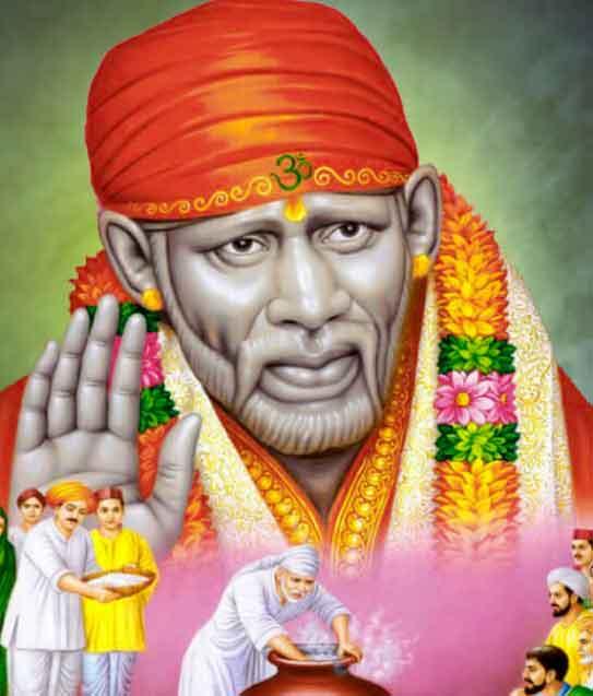 latest Sai Baba whatsapp dp wallpaper