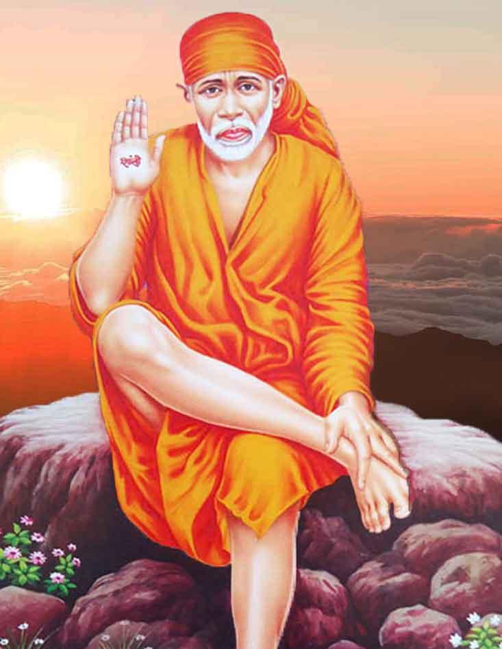 lord Sai Baba whatsapp pics hd