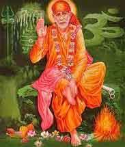 nice Sai Baba wallpaper hd download