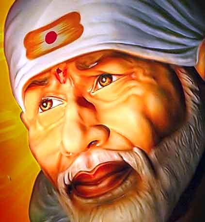 nice hindu god Sai Baba hd